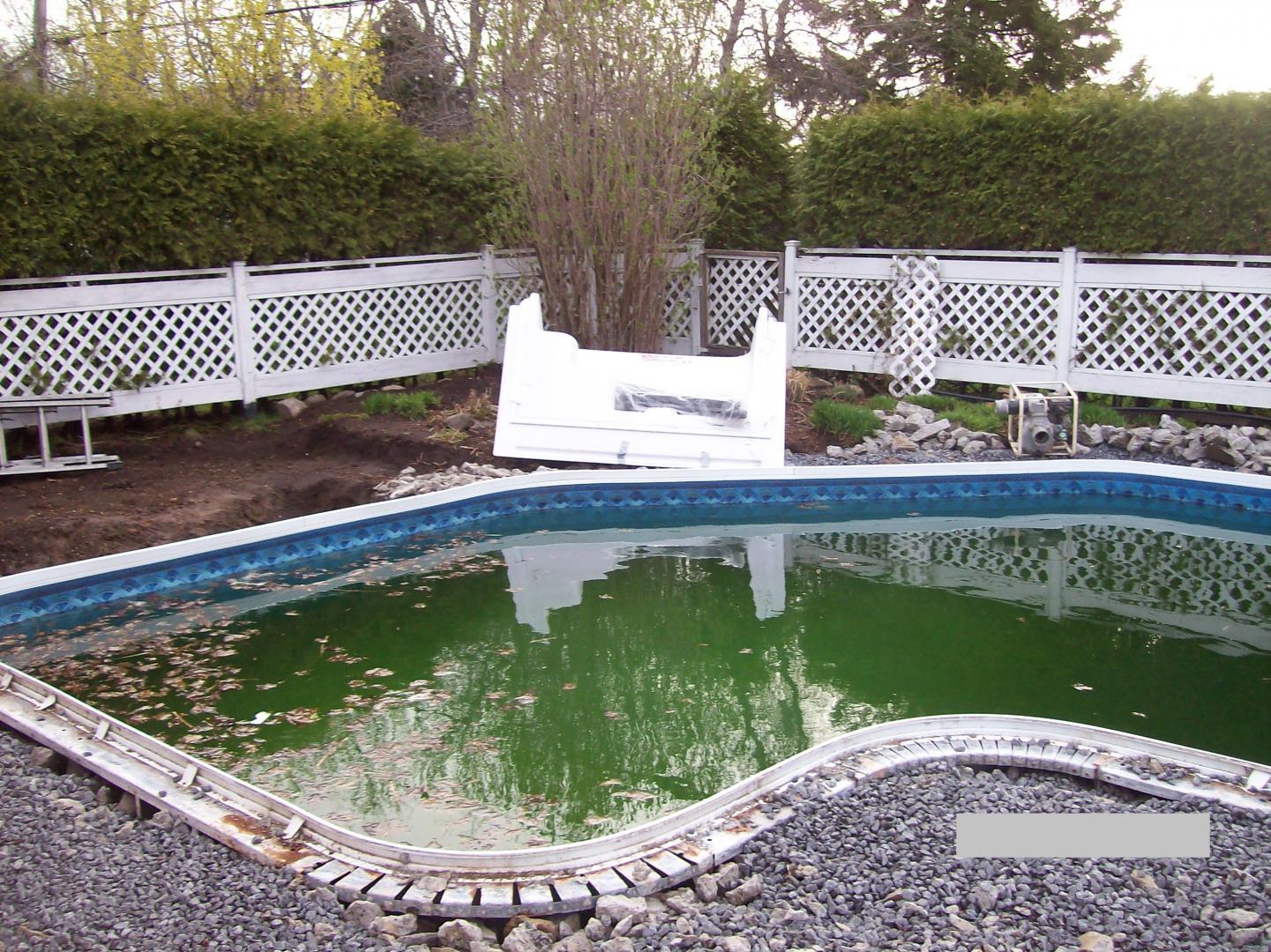 R paration piscine creus e repentigny terrebonne l for Piscine terrebonne